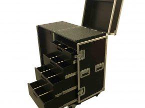 Motorsport flightcase - Toolcase 4x lade en werkblad