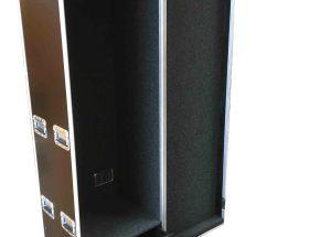 Machineonderdelen flightcase - Wardrobe flightcase klein model 60 cm breed