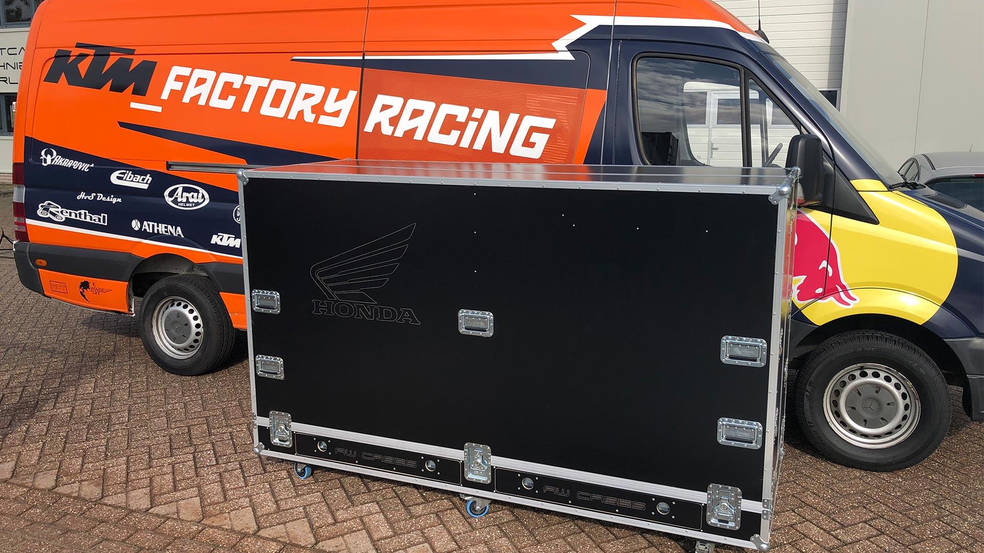 Alpha deuren Zuid-West Zuid-West -  HTS Racing Team Motorflightcase
