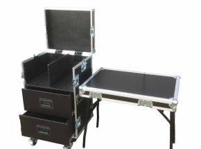 Motorsport flightcase - Toolcase 2x lade coffeecase