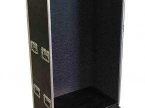 Machineonderdelen flightcase - Wardrobe flightcase middel groot model 80cm breed