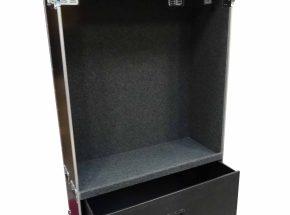 Machineonderdelen flightcase - Wardrobe flightcase groot model 120 cm breed
